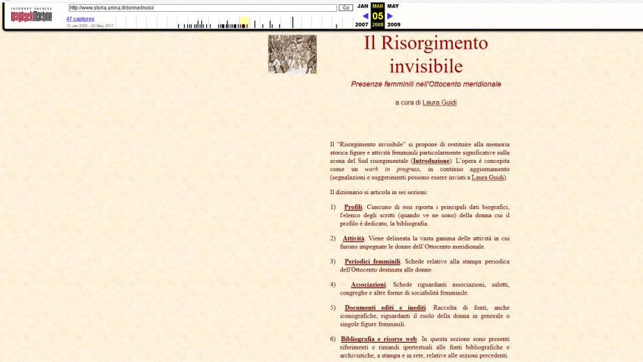 Risorgimento invisibile