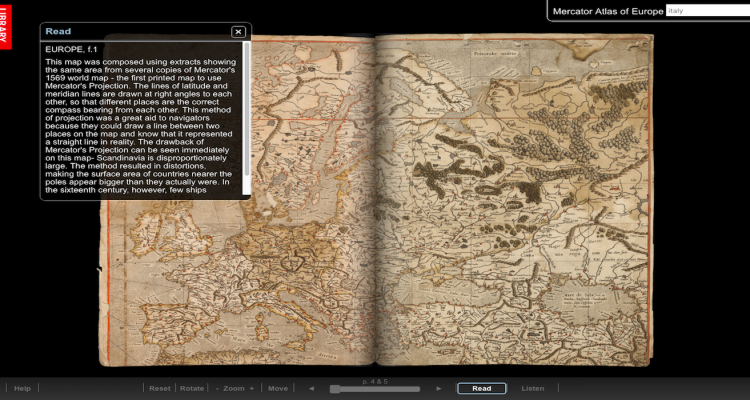 The Mercator Atlas of Europe