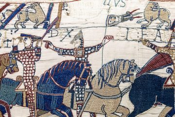 Bayeux_Tapestry_scene55_William_Hastings_battlefield