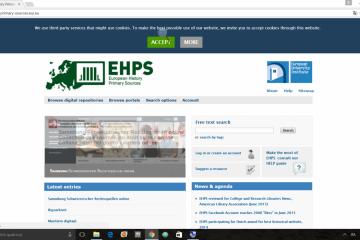 European History Primary Sources (EHPS)