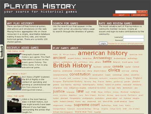 Playinghistory