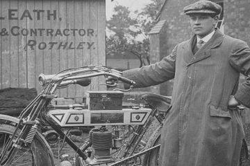 R Sleath Snr & Bradbury motorcycle