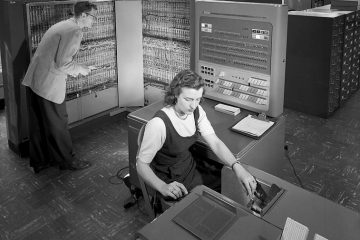 An IBM 704 mainframe / Lawrence Livermore National Laboratory