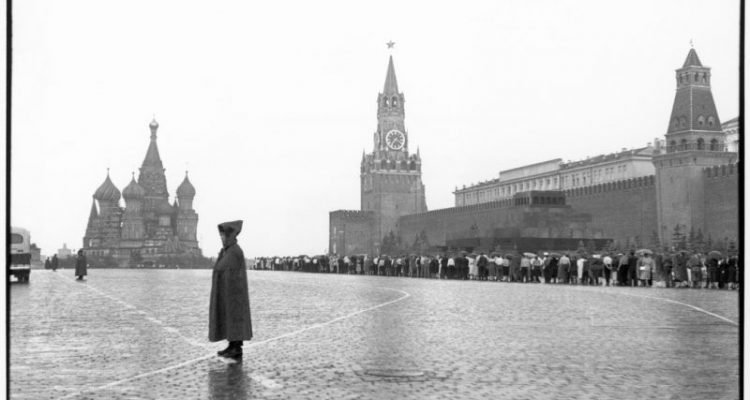 Moscow.-Red-Square.-The-Kremlin.-1954.