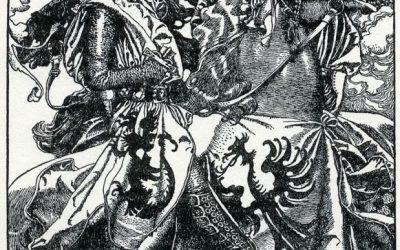 arthur-pyle_sir_kay_breaketh_his_sword_at_ye_tournament