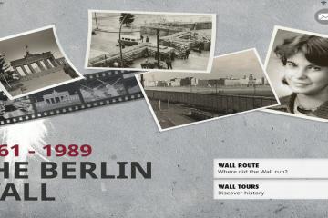 berlin wall app